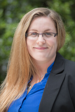 Affordable paralegal services at Haas & Associates are provided by paralegal Jamie Miller.